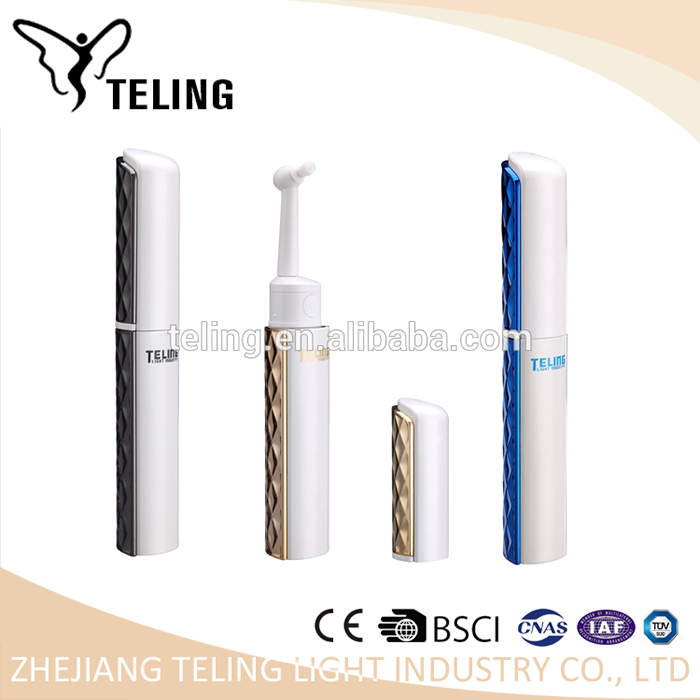 2017 new design homeuse silicone head electric tooth brush