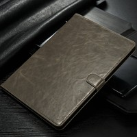 New Arrival tablet leather case for ipad mini4, 2016 new product tablet cover for iPad mini 2 3 4 With Card Slots