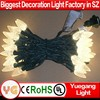 ul listed C6 Strawberry Mini Lights Commercial Grade LED Christmas Lights for USA interior decoration