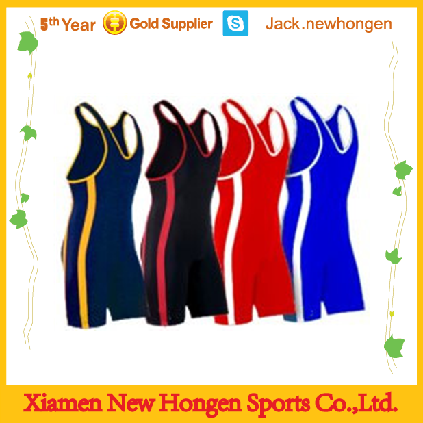 Making men and women high quality wrestling singlet/wrestling wear