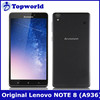 Original Lenovo Note 8 6.0 IPS Mtk6752 Octa Core 1.7Ghz 2GB 8GB 3G 4G Dual Sim Card 13.0MP Android 4.4 Mobile Phone