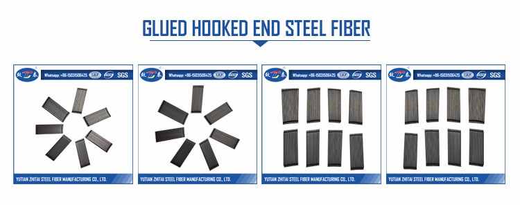 Flexural Strength Steel Fiber Made From Low Carbon Steel in Cement Concrete