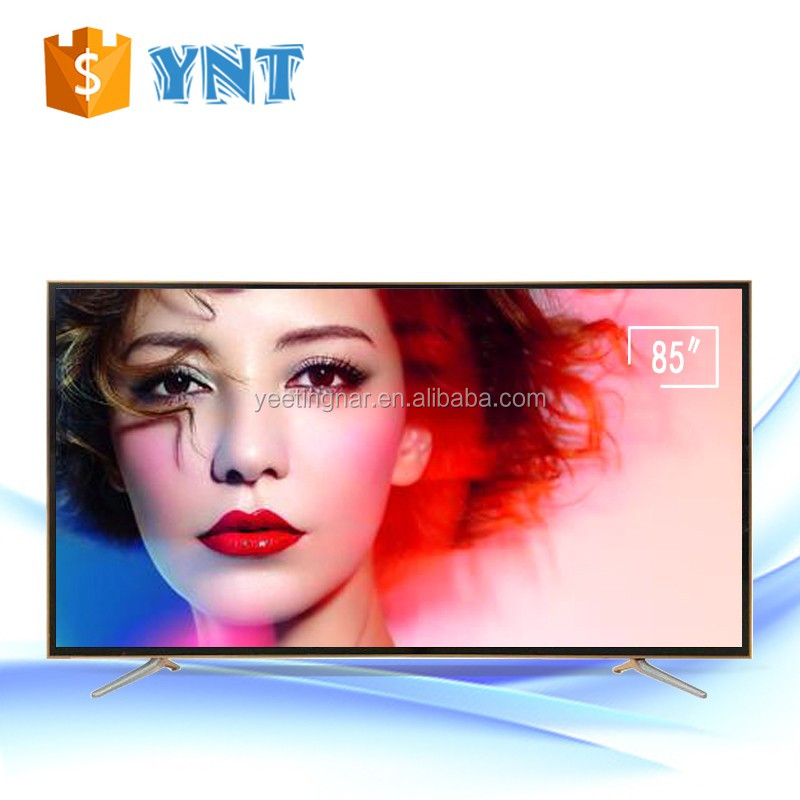 "Best quality OEM TV led 60""65""70""75""80"" inch led tv with good price for oem order optional wifi smart tv"