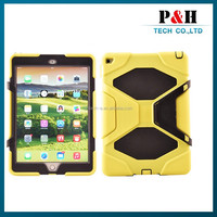 for ipad air silicon shockproof/scratch-resistant/anti-skidding case