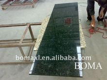 Verde Butterfly Granite Fireplace Back Panel