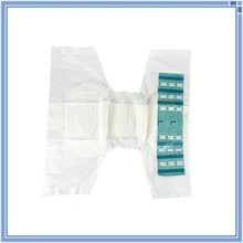 PE backsheet and PP tape disposable adult diaper with good absorbent