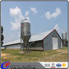 Prefab Light Steel Structure Design Poultry House Chicken Farm Chicken Shed with low cost
