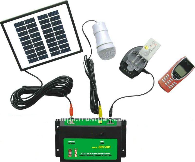 Portable Solar Lighting Kit - SRY-001