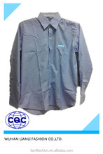 men's customized work shirt with plaid