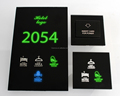 Special Guest Room Touch Doorplate Logo Number Backlight Changing Electrical Sign