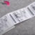 Made in china customized matte lamination large adhesive barcode label stickers