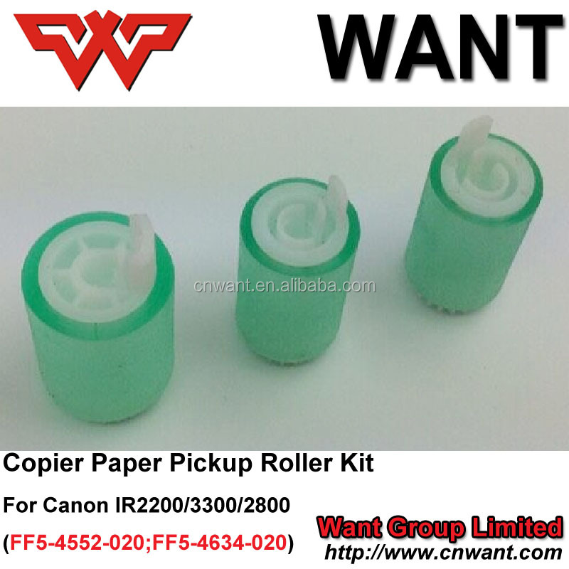 paper pickup roller kit for canon IR2200 ir2800 ir3300, for canon ir copier ir2270 ir 2250 ir2230 ir2220 GP405