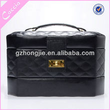 Combination lock professional cosmetic trolley cases for nail beauty polylaminate makeup case