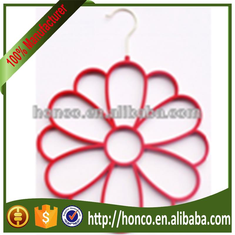 Hot selling Beautiful silk scarf hanger for wholesales HC9862