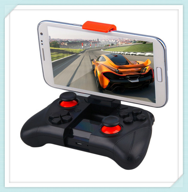 050 IOS/ Android cheap mini game controller Bluetooth gamepad for mobile phone, tablet PC, smart TV
