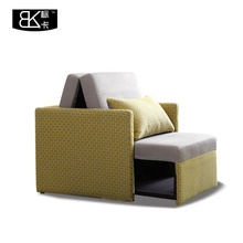 Single sofa bed or folding sofa 1 seater general used in hospital bed or hotel <strong>furniture</strong> or motel