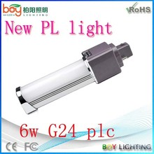 New style g24 led pl 6w,led g24 pl,new pl lamp g24 led plc 13w 2-pin g24 pl tube