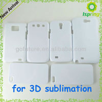 2013 high quality, blank 3d sublimation smartphones cases