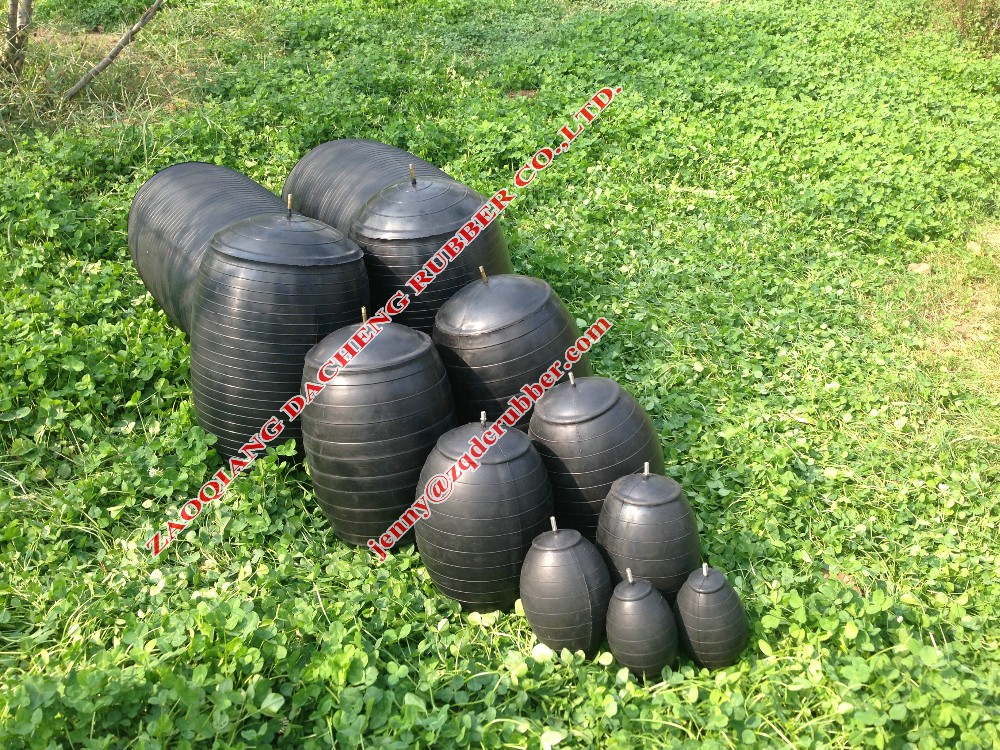 Pneumatic sewer rubber pipe plug (high pressure) for water plugging pipeline solutions