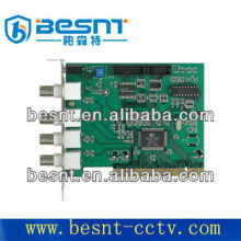 4 CH vedio cctv system pc DVR card BS-D104C