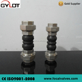 DN60 Threaded Union Rubber Expansion Bellow