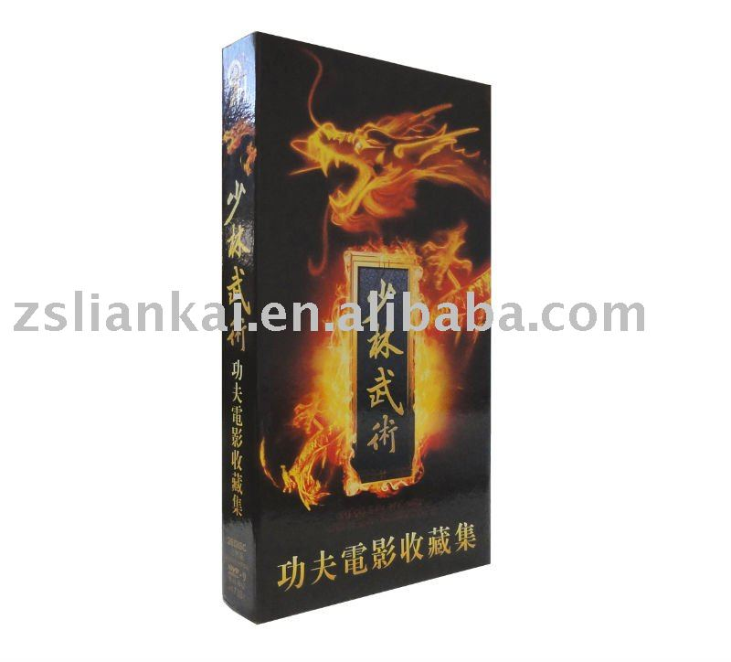 CD/DVD Packing Box