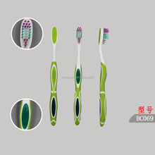 Toothbrush caps blister pack/family toothbrush pack 3pcs/toothbrush kit pack with tongue cleaner