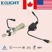 2016 E-mark approved canbu led motorcycle headlight for mtorcycle H4 H6 in USA and Canada