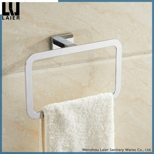 20732 bathroom accesories set wholesale new design hang towel ring bathroom accessories set wall mounted chrome towel ring
