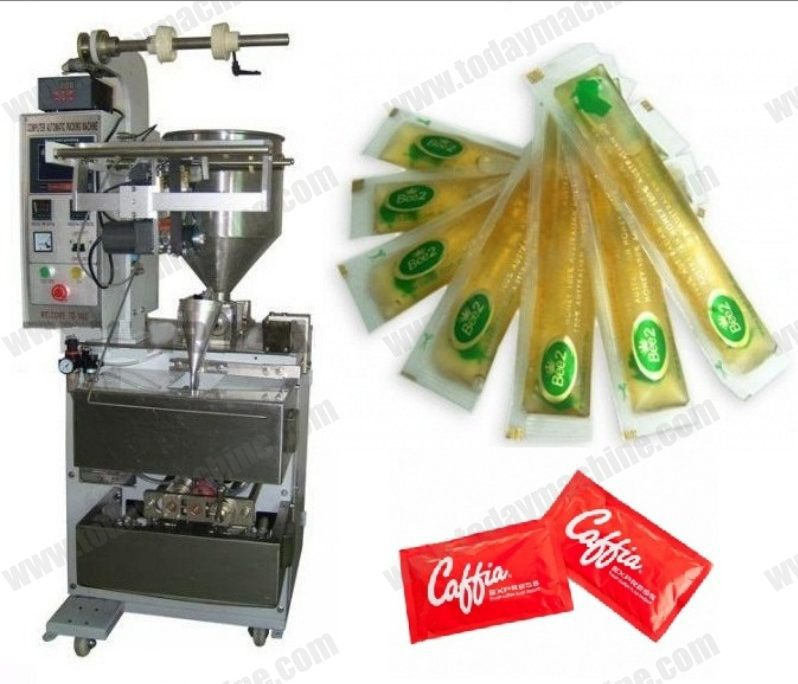 Automatic vertical machine packing juice bags