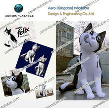 Inflatable cartoon cat for nestle advertising / Inflatable animal