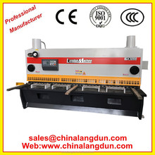 QC11k-4*4000 sliding table saw guillotine cutting machine hydraulic shearinging machine Metal Shearing