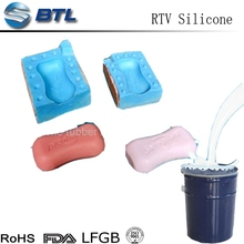 Liquid RTV Silicone Rubber for soap molds making
