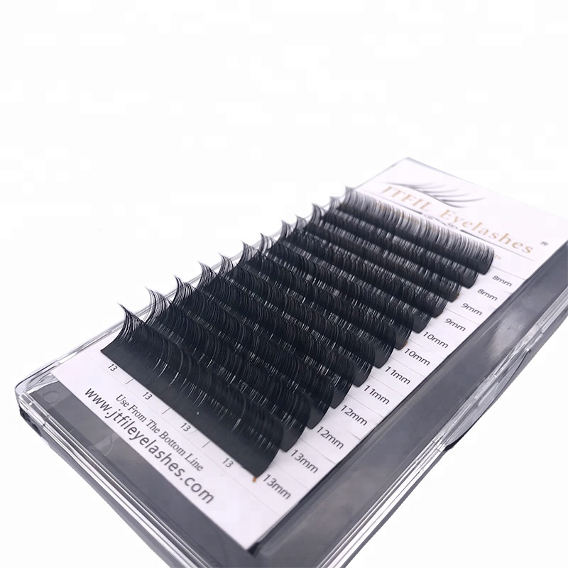 jtfil cosmetics vendor private label custom lashbeauty 25mm individual eyelashes extensions 3d mink eyelash