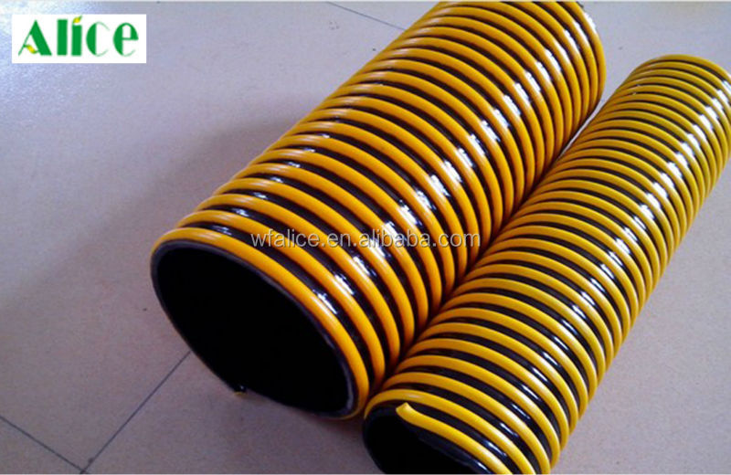 pvc suction hose flexible heat resistant silicone duct hose manufacturer