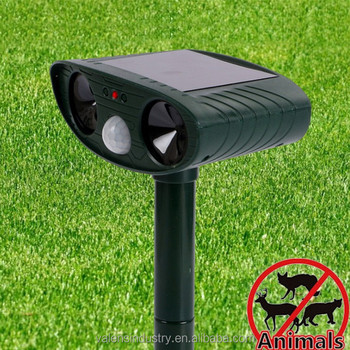 Solar animal repeller Ultrasonic Animal Pest Repeller Rejector Pets Cats Dogs Mice Squirrel Repeller Dropshipping available
