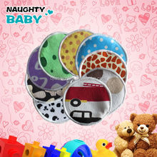 Hot sale High quality washable MINKY cloth bamboo mom nursing comfortable breast milk pads