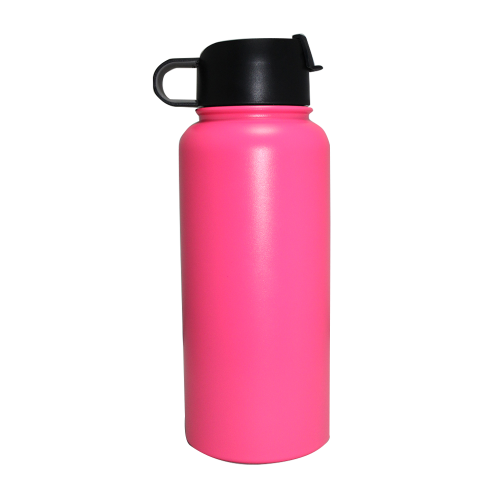 Custom 18 8 304 SS Double Wall Vacuum Flask Hot Water Bottle For Kids For School
