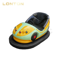 Playground Games Kids Mini Battery Electric Coin Operated Bumper Car For Sale