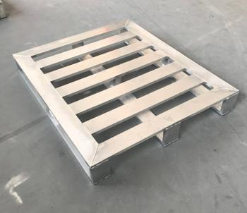 Standard 4-Way Heavy Duty Solid Cold Room Aluminum Pallet