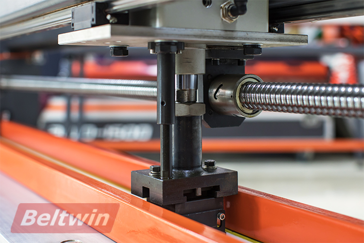 Beltwin fully automatic High-speed steel blades PVC/PU belt conveyor belt electronic finger punching machine