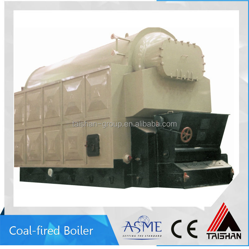 DZL coal fired water tube and fire tube single drum steam boiler
