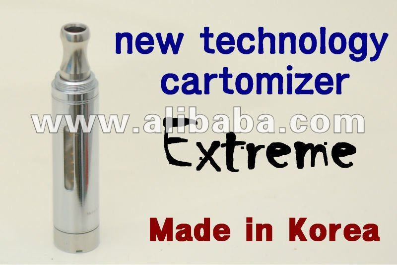 made in KOREA new 2012 electronic cigaret clear cartomizer extreme