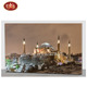 Hand Painted Oil Painting Canvas Islamic Building Art Painting For Home Decoration