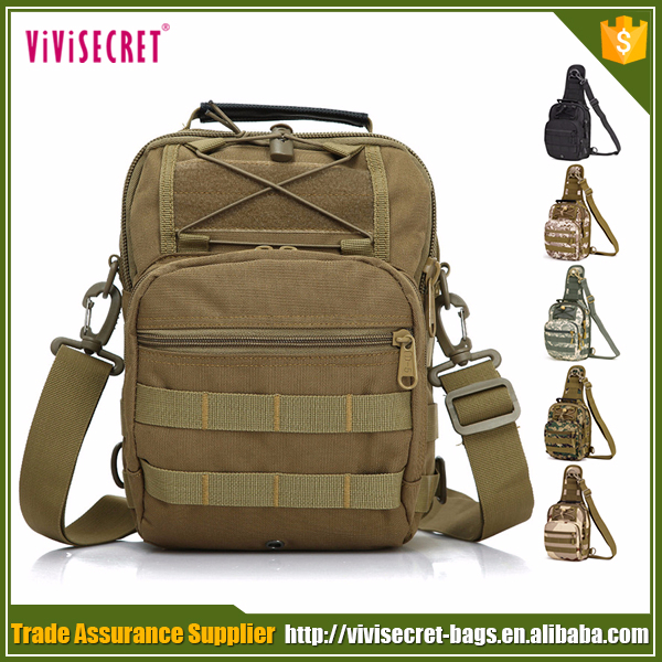 Outdoor mini backpack chest pack military tactical sling bag for men
