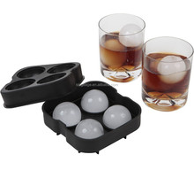 silicone ball shaped ice cube tray,sphere ice ball maker,death star ice