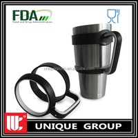 30oz Double Wall Stainless Steel 18/8 Vacuum Insulated Travel Tumbler handle