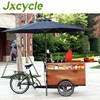 Distinctive new coffee tricycle electric cargo bike bike cafe mobile coffee truck for sale