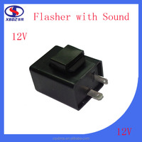 Motorcycle Parts 12V Flasher with Sound