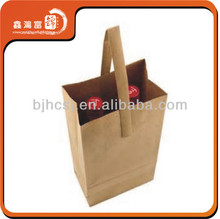 Custom new style Decprative Paper Wine Bottle Bags